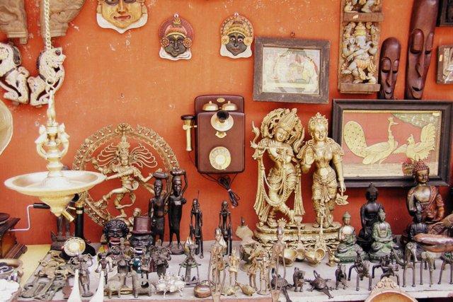 India markets and shopping nakupovanje in tržnice Indija