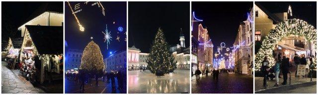 Ljubljana Slovenija bozicne trznice advent december winetr christmas markets Slovneia