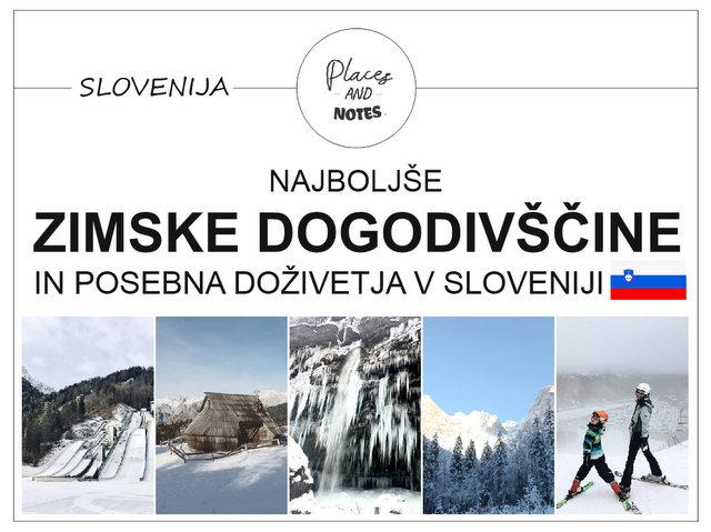 Najboljše zimske dogodivščine in posebna doživetja v Sloveniji