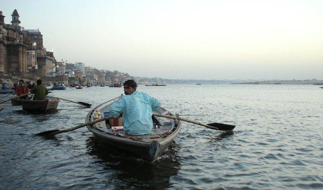 People of India ljudje v Indiji Varanasi