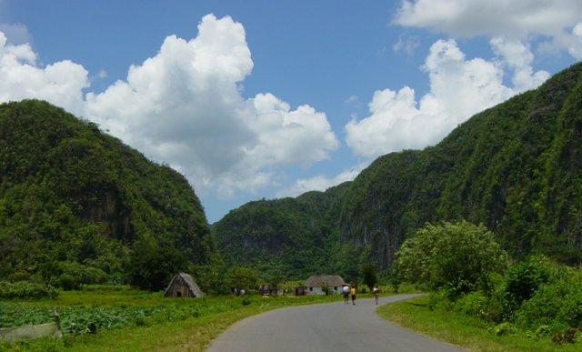 Pinar del Rio Cuba Kuba road trip potovanje z najetim avtom