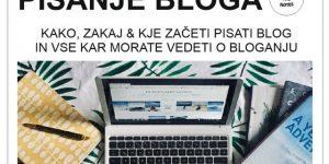 PISANJE BLOGA | kako, zakaj & kje začeti pisati blog in vse kar morate vedeti o bloganju