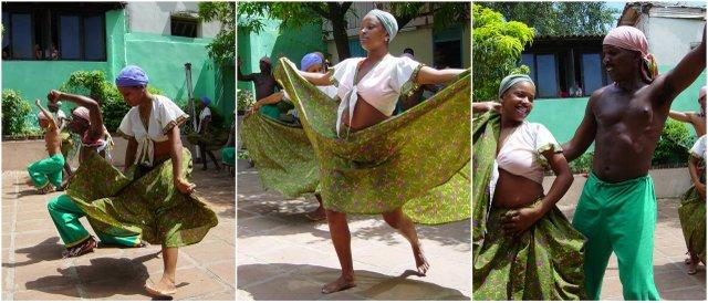 Santiago de Cuba traditional dancing Kuba potovanje ples