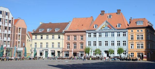 Stralsund Rathaus markt what to see and do northern Germanz