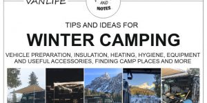 WINTER CAMPING with a van or camper car | tips and ideas