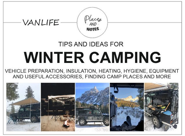 Tips and ideas for winter camping vanlife