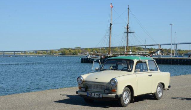 Trabant car Germany Nemcija avto Stralsund