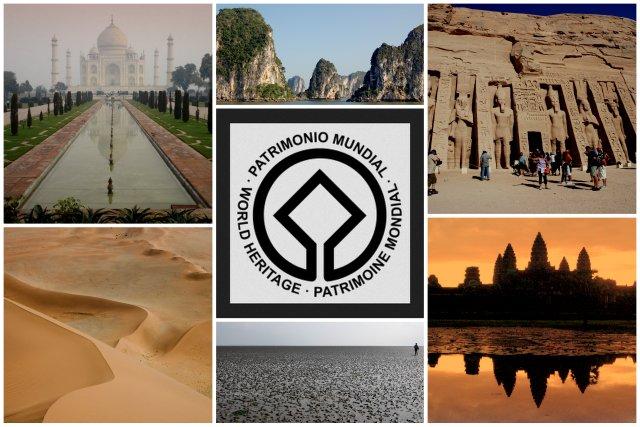 Unesco world heritage sites travelling