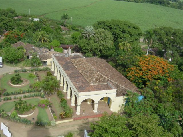 Valley of sugar Valle de los Ingenios Cuba Kuba potovanje mlini za sladkorni trs