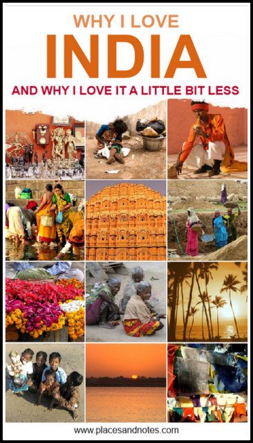 Why I love India and why I like it a little bit less - positive and negative aspects of travelling India