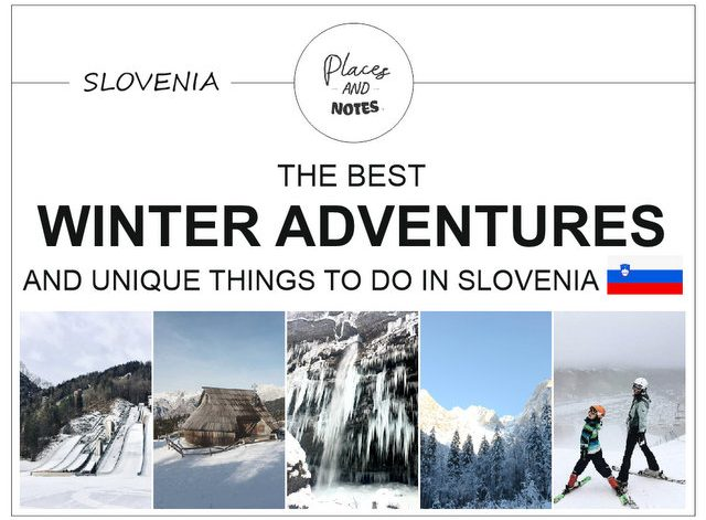 Winter sports adventures and events in Slovenia trips travel