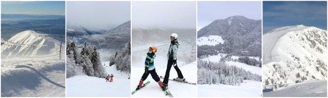 smučanje Slovenija zimske športne aktivnosti winter time Slovenia skiing winmter sports
