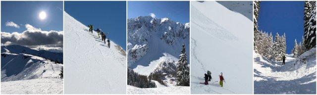 turno smučanje Slovneija zimski gorski športi Ski touring Slovenia