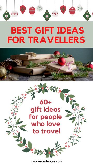 60 ideas on gifts for travellers and best presents for people who love to travel