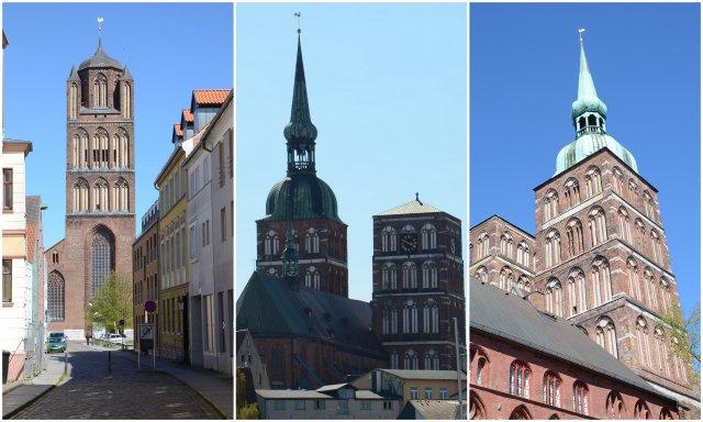 Stralsund churches Germany Nemcija