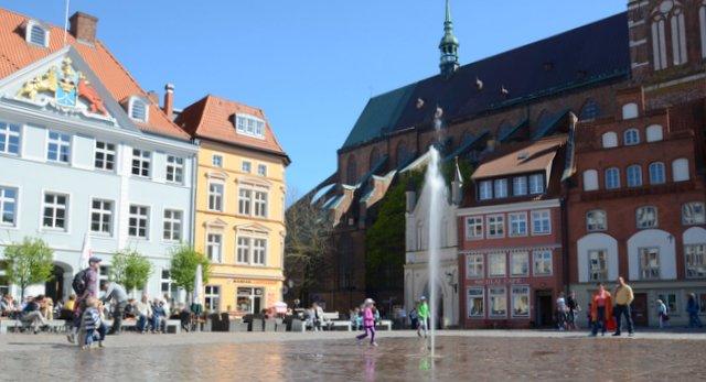 Stralsund city centre Germany severna Nemcija