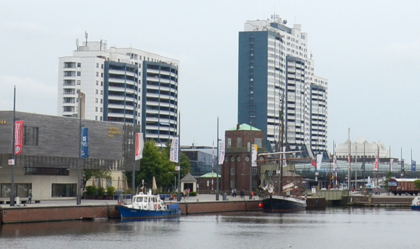 Columbus-center-Bremerhaven-Germany-Nemčija