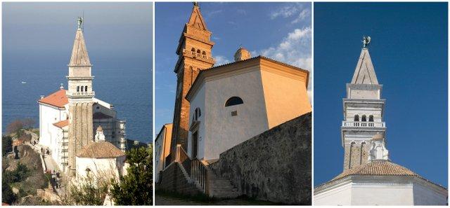 Piran-zvonik-cerkev-izlet-morje-obala-Slovenija-blog