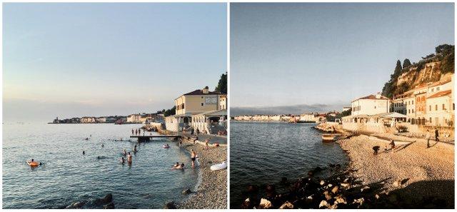 plaža-Fornače-Piran-Slovneija-izlet-morje-obala